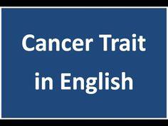 Cancer Positive and Negative trait