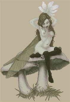 Fairy - Flower For my Hair - by Erle Ferroniere