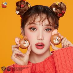The Best K-Beauty Products To Purchase In February 2020 - Etude House – Two Tone Cheek Dome Lucky Together Collection You are in the right place about Makeu - Cute Beauty, K Beauty, Beauty Makeup, Beauty Tips, Beauty Products, Pony Korean, Pony Makeup, Missha Time Revolution, Lisa Blackpink Wallpaper