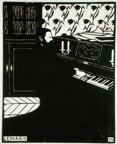 The Piano - Felix Vallotton