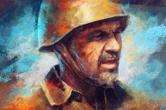 Soldier, Elena Dudnakova on ArtStation at https://www.artstation.com/artwork/soldier-326779f3-7b29-4495-8c10-d2327d3319a5