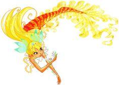 Stella as a mermaid