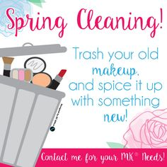 Spring Cleaning! #mk #newproducts #springcleaning2017 #outwiththeold #qtoffice #withyoueverystepoftheway Old Makeup, Mary Kay Makeup, Spring Cleaning, Spice Things Up, Open House, Purpose, Marketing, Long Hair Styles, Business