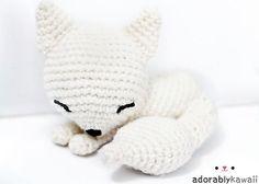 Ravelry: Sleepy Fox Amigurumi pattern by Adorably Kawaii