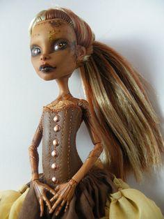 OOAK Monster High Custom Art Doll Oriana by ValravnDesigns on Etsy, £140.00