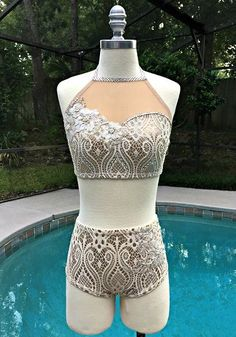 Jordan Grace Princesswear creating unique pageant swimwear and dance costumes that are always original, never duplicated. #danceoutfits
