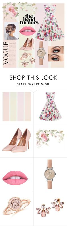 """🌸🌼🌸🌼"" by shanoonflower ❤ liked on Polyvore featuring Topshop, L.A. Girl, Shinola and Marchesa"