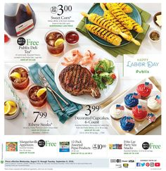Publix Weekly Ad August 31 - September 6, 2016 - http://www.olcatalog.com/grocery/publix-weekly-ad.html