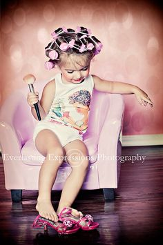 fun picture to take of a little girl