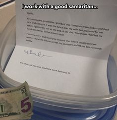 It's little acts of kindness like this that give me hope for the world.  This is wonderful