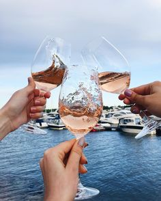 We'd rather be sippin' rose! Weekend hurry up!