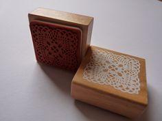 Stempel Häkeldecke Spitze Deckchen Ornament von frauzwerg auf Etsy, €4,50