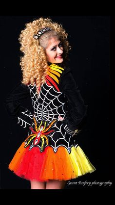 Rising Star designs- cool but a little creepy. Not sure how I feel about dancing with a spider on my back!