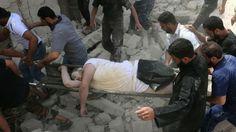 50 personas habrían muerto en bombardeo a hospital en Alepo, Siria