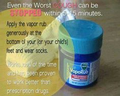 Got a bad cough? Check this tip out..