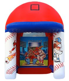 Baseball Inflatable Rental In Hixson,tn