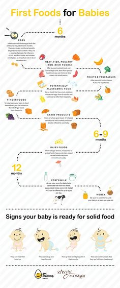 First foods for babies