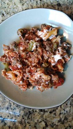 21 Day Fix - Ground Turkey Pasta Bake