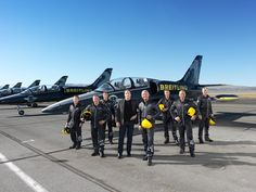 John Travolta and the Breitling Jet Team at the Reno Air Races - Breitling - Instruments for Professionals