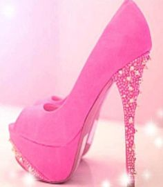 ~PINK!!!<3 I'd probably break my neck wearing these heels! hahaha just for one night