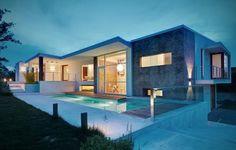 Le paradis blanc, charmante maison contemporaine du Piedmont italien,  #construiretendance