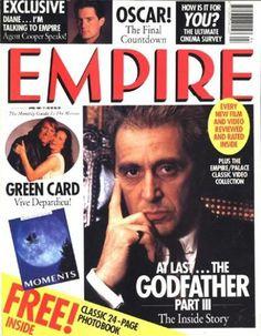 Al Pacino for Empire Magazine UК, April 1991