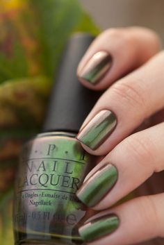 I Nail Polish Colors for Winter Style Simple Opi Nail Polish Colors For Winter Style 15 - Simple Opi Nail Polish Colors For Winter Style 15 - Opi Nail Polish Colors, Opi Nails, Nail Colors, Opi Polish, Green Nail Polish, Cute Nails, Pretty Nails, Nail Lacquer, Nagellack Trends