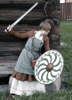 Shieldmaiden by VendelRus.deviantart.com on @deviantART