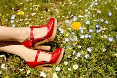 :: red Chloé mary jane heels :: if i could make love to a shoe, i would be all up in this pair. true story.