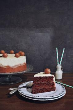 Layer cake - gâteau anniversaire - chocolat