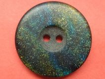 10 Knöpfe schwarz grün gold blau 23mm (4509-3)