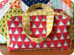 Two Little Banshees: A Knitting Bag