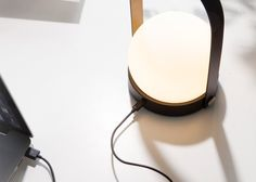Hygge, the Danish term for cosiness, inspired Norm Architects' Carrie LED Lamp