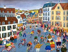 Ruth+Schmidt+-+Tour+de+France 28x38+cm