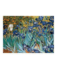 Love this Vincent Van Gogh Irises 1,000-Piece Puzzle on #zulily! #zulilyfinds
