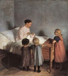 """The Little Brother,"" Anna Ancher"