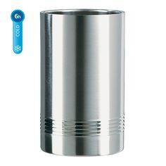 EMSA SENATOR Flaschenkühler–Größe: 11 x 20 cm Hochwertiges Design Optimale Kühlleistung