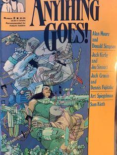 Alan Moore Comics, Art Spiegelman, Comic Art, Comic Books, Fantasy Comics, Frank Miller, Jack Kirby, Silver Age, Dark Horse