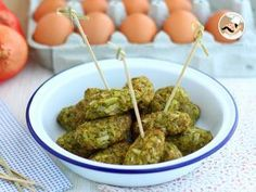 Croquetas de brócoli y parmesano al horno