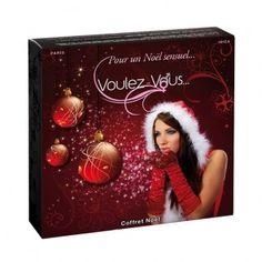En lyxig och sensuell julklapp från Voulez-Vous... Med denna presentbox kan du och din partner njuta av en sensuell och erotisk massageupplevelse. Denna box är fylld med doftande massageoljor, kroppspuder och kroppsoljor. Kroppspudren gör att du kan äta från din partner, dessa kroppspuder kommer i smakerna Cremé Brulée och Pepparkakor!