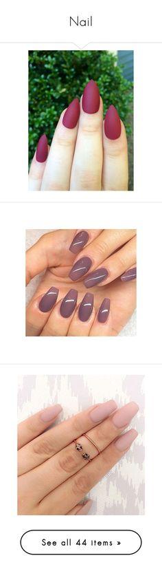 """""""Nail"""" by liazpanda ❤ liked on Polyvore featuring beauty products, nail care, nail treatments, nails, makeup, beauty, unhas, nail polish, rings and detalhes"""