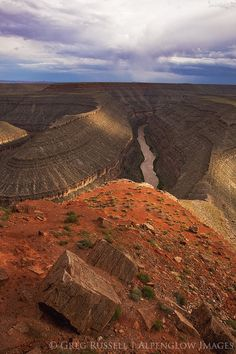 The Goosenecks of the San Juan River would be protected by the proposed Bears Ears National Monument.  #protectbearsearsnow #naturalwonders #sanjuanriver #utahisrad #nationalmonument #thunderstorms