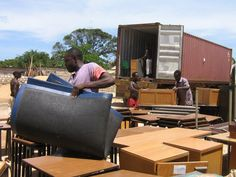 How to Donate Furniture to Charity #stepbystep