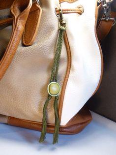 """Schlüsselanhänger - Schlüsselanhänger & Taschenanhänger  """"Knopf"""" - ein Designerstück von Nadeltasse bei DaWanda Bucket Bag, Etsy, Bags, Fashion, Handbags, Moda, Fashion Styles, Fashion Illustrations, Bag"""
