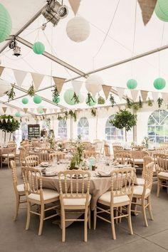 (notitle) - Paper Lanterns - The Dream wedding Store - Hochzeit Wedding Store, Tent Wedding, Wedding Table, Dream Wedding, Wedding Day, Wedding Blog, Wedding White, Green Wedding Decorations, Deco Champetre