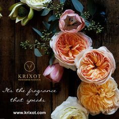 Listen to what fragrance says. Follow the fragrance at- http://krixot.com/