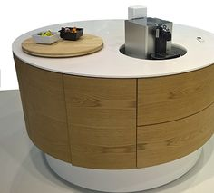 This height adjustable kitchen island is developed in collaboration with the Polish furniture manufacturer Anegre for our participation at Furnica earlier this month. Anegre specializes in wood, and we absolutely love the clean, aesthetic look of this moving design. #designmeetsmovement #movingisliving #urbanliving #partnership