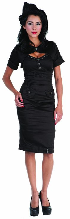 Dickies dress nurse black