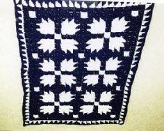 Bears Paw Block Afghan Free Crochet Pattern