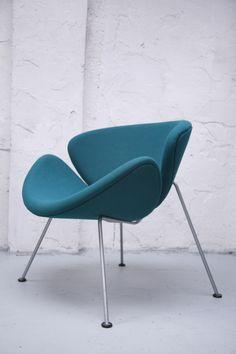 orange slice chair   Pierre Paulin